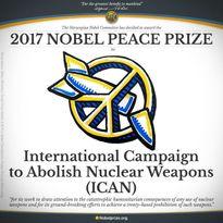 برنده جایزه صلح نوبل۲۰۱۷ مشخص شد