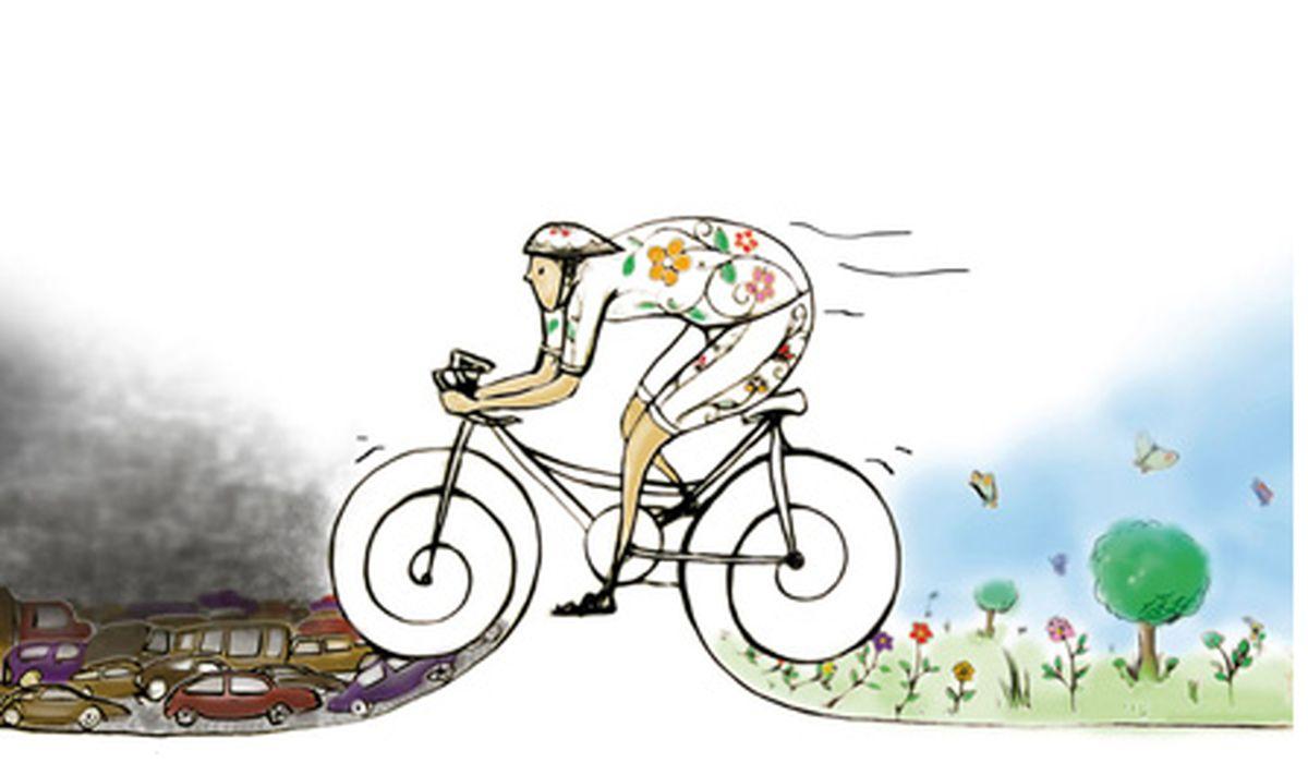 مزایای دوچرخه سواری بزرگسالان