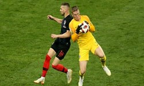 نیمهنهایی جام جهانی 2018 روسیه تساوی سهشیرها مقابل کرواسی در 90 دقیقه