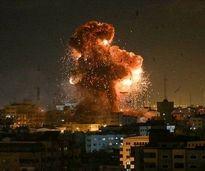 تخریب برج الجلاء در غزه + فیلم