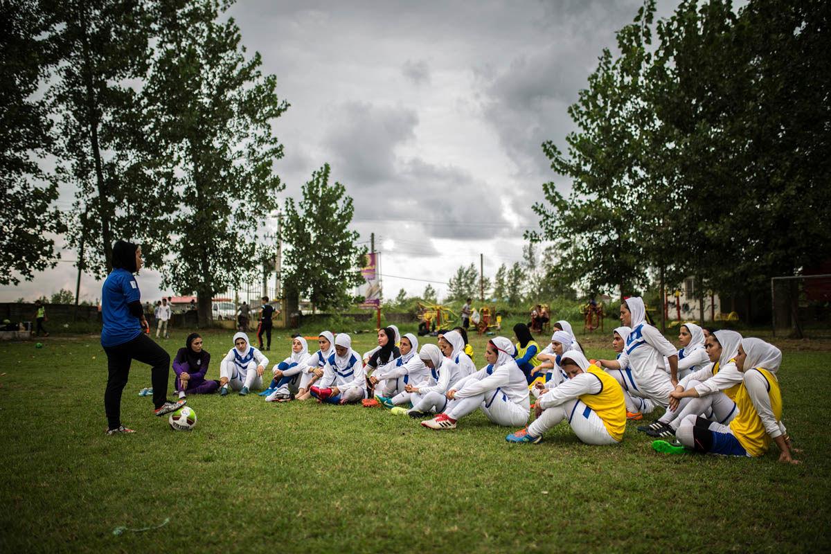 خانم گل فوتبال ایران کیست +عکس
