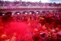 جشن رنگها در هند +عکس