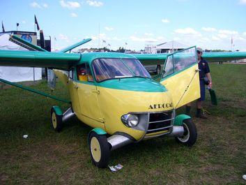 خودروهایی که میتوانند پرواز کنند