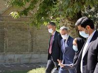 وزیر امور خارجه سوییس از نیاوران بازدید کرد +عکس