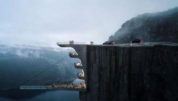 هتل ضدجاذبه؛ برای آنها که قلبی قوی دارند +عکس