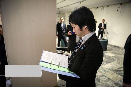 هدیه ویژه سفارت ژاپن به موزه رضا عباسی +عکس