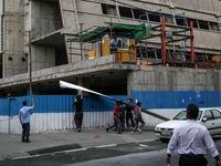 طوفان تهران یک فوتی و ۷۶ مصدوم بر جای گذاشت