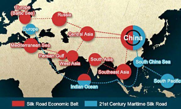 رسانه های چین: راه ابریشم برای ایران یک فرصت است
