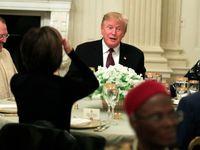 ترامپ افطاری داد! +فیلم