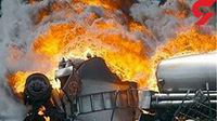 3 مصدوم  در انفجار تانکر قیر
