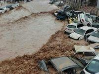 سیلاب شیراز چند قربانی گرفت؟