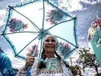 جشنواره گل کلمبیا در عکس روز نشنالجئوگرافیک +عکس