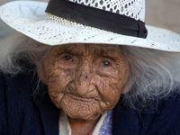 پیرترین زن دنیا به روایت تصویر