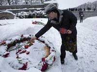 مراسم یادبود هفتادوپنجمین سالگرد آزادسازی لنینگراد +فیلم