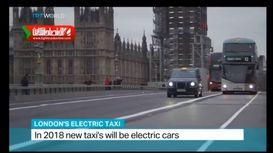 نگاهی به تاکسی الکتریکی در لندن +فیلم