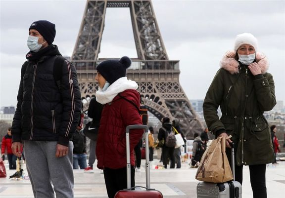 پلیس فرانسه محدودیتهای تردد را تمدید کرد