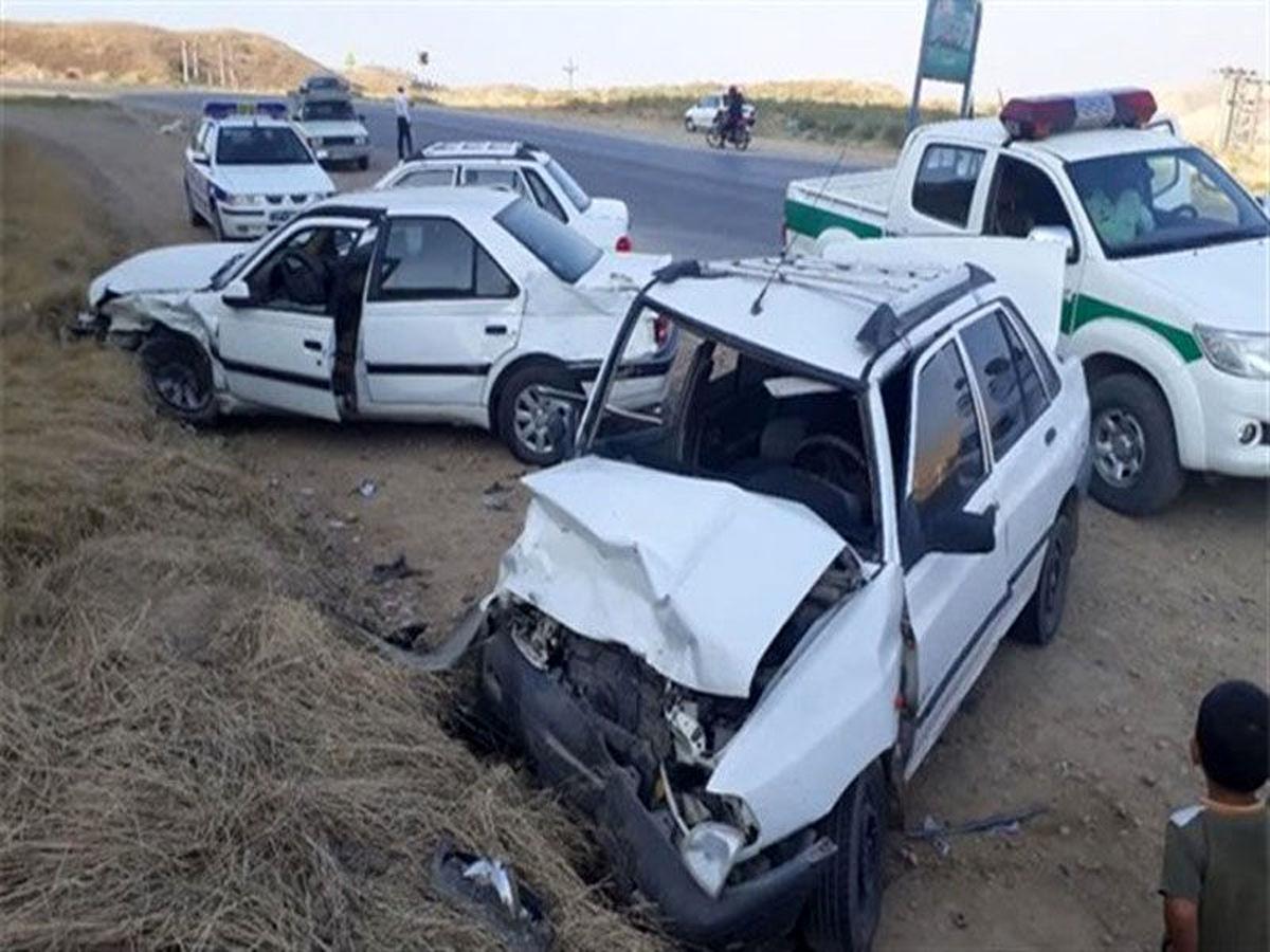 تصادف در جادهای ۲کشته برجا گذاشت