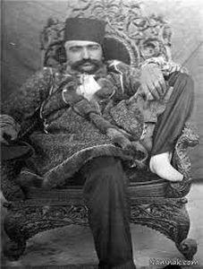 نخستین سلفی قاجارها در کاخ گلستان +عکس