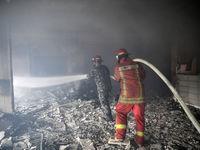 آتشسوزی در جنگلهای لبنان +تصاویر