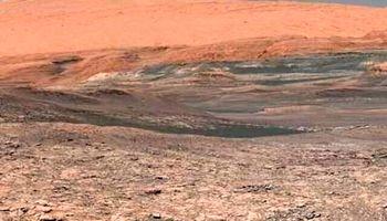 تصاویر حیرتانگیز از سقوط بهمن در مریخ