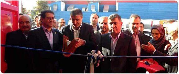 بزرگترین خط تولید کانتینرهای حمل دریایی کشور با مشارکت بانک صادرات ایران افتتاح شد