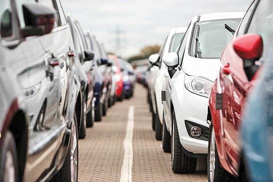 کاهش ۴.۸ درصدی خرید خودرو در اروپا