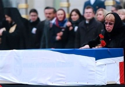 همسر و فرزند سفیر ترور شده روسیه +تصاویر