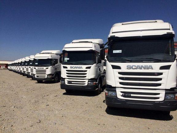 ممنوعیت تردد کامیونهای باری از مرز مهران