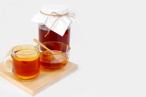 چای و عسل و لیمو