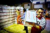 62هزار بسته غذایی به مناطق سیل زده ارسال شد