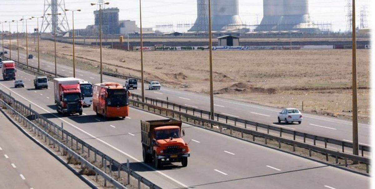 ترافیک در آزادراه کرج-قزوین