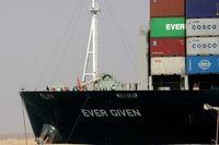 عامل اصلی حادثه کشتی «اور گیون» خطای انسانی بود