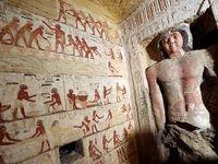 کشف یک مقبره ۴۴۰۰ ساله در مصر +فیلم