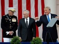 نشست ترامپ با تیم امنیت ملی آمریکا درباره کره شمالی