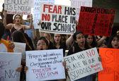 اعتراضات دانشآموزان علیه حمل اسلحه در آمریکا +تصاویر