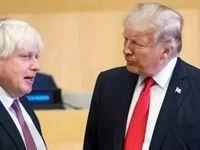 ذوقزدگی ترامپ از نخست وزیر شدن جانسون در انگلیس