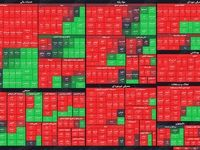 نمای بورس امروز در پایان معاملات/امیدواری سهامداران برای رشد شاخص بیشتر از چند دقیقه طول نکشید