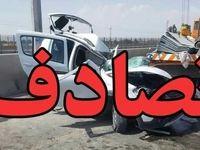 تصادف خونین در اصفهان