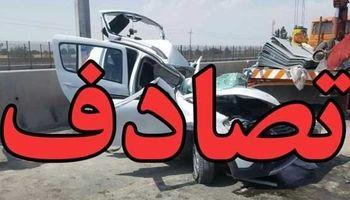 4کشته و ۲مجروح حاصل یک تصادف
