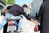 کیف قاپی بی رحمانه از زن جوان تهرانی! + فیلم
