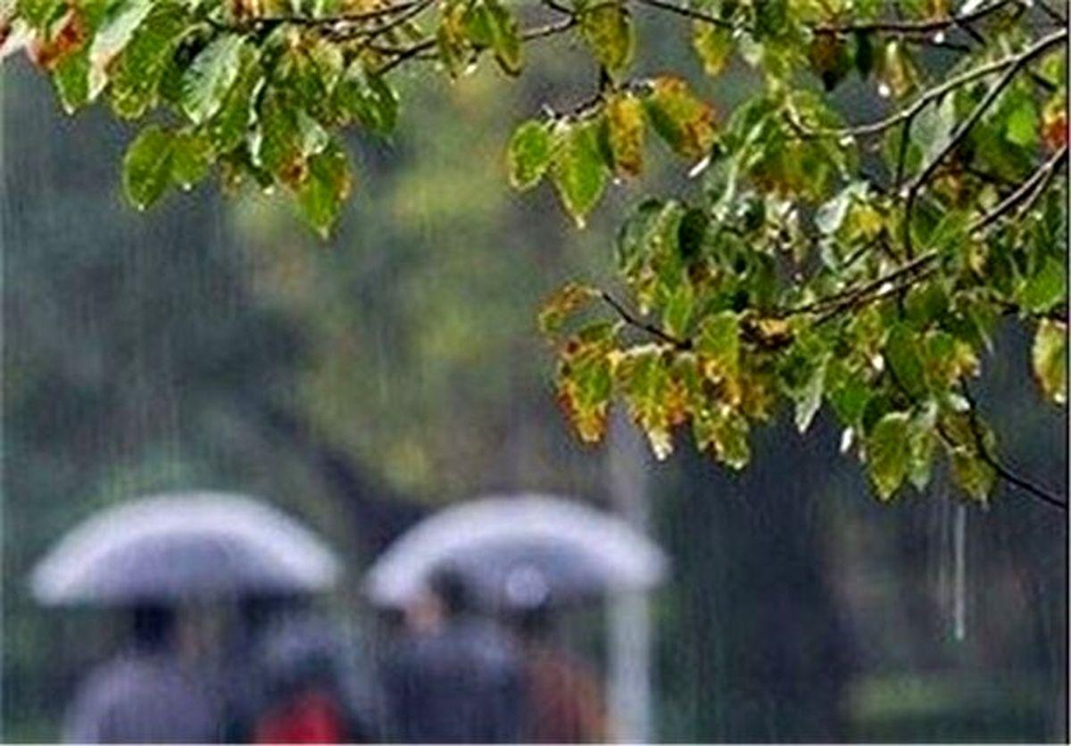 پیش بینی رگبار ۴روزه باران در برخی استانها