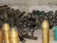 کشف مواد منفجره ساخت عربستان در سوریه +عکس