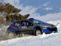 مسابقات هیجان انگیز رالی در برف +تصاویر