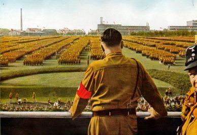 تصاویر دیده نشده از هیتلر و حزب نازی
