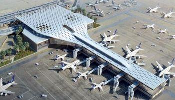 تصاویری از آسیبهای فرودگاه بین المللی ابها +فیلم