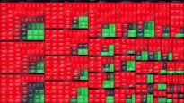 نمای میانی بورس(۲۷شهریور) / افت ۳۳هزار واحدی شاخص کل