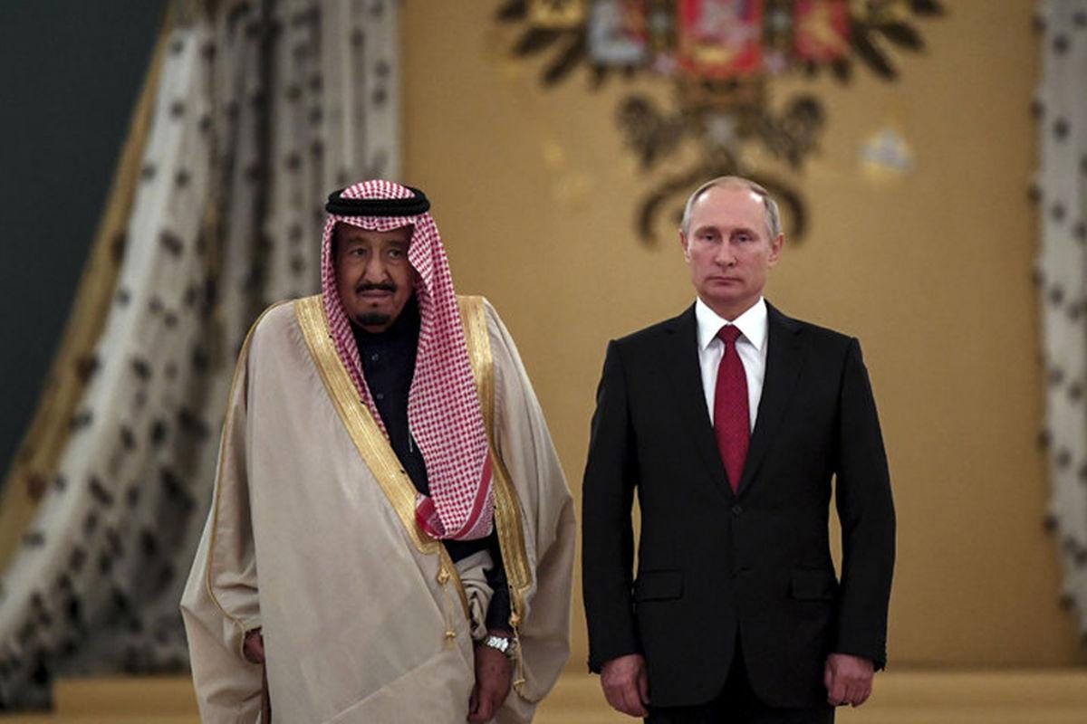 هدیه عجیب پوتین به پادشاه عربستان