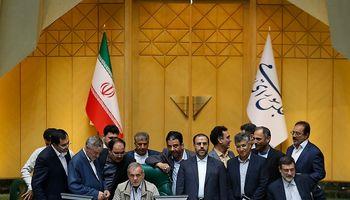 مجلس در روز پیشنهاد وزرای کابینه دوازدهم +تصاویر