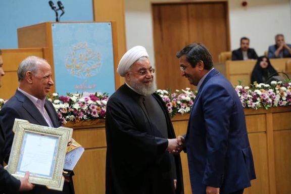 عبدالناصر همتی، مدیر برگزیده جشنواره شهید رجایی شد