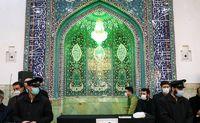 مراسم تشییع پیکر آیت الله مصباح یزدی +عکس